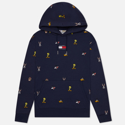 Мужская толстовка Tommy Jeans x Looney Tunes Hoodie Dark Ink