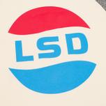Мужская толстовка TSPTR LSD Print Raglan Crew Grey Marl/White фото- 2