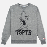 Мужская толстовка TSPTR Popeye Spinach Grey Marl фото- 0