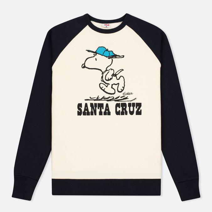 Мужская толстовка TSPTR Snoopy Santa Cruz Raglan Crew Navy/White