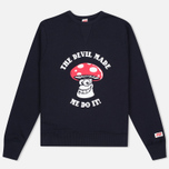 TSPTR The Devil Made Me Do It Men's sweatshirt Navy photo- 0