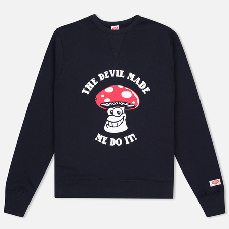 TSPTR The Devil Made Me Do It Men's sweatshirt Navy