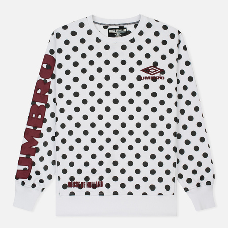 Мужская толстовка Umbro x House Of Holland Polka Dot Side Rib White
