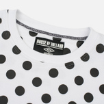 Мужская толстовка Umbro x House Of Holland Polka Dot Side Rib White фото- 1