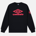 Мужская толстовка Umbro Pro Training Classic Crew Black фото- 0