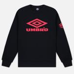 Umbro Pro Training Classic Crew Men's Sweatshirt Black photo- 0