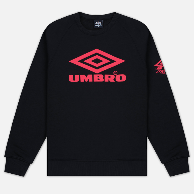 Мужская толстовка Umbro Pro Training Classic Crew Black