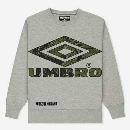 Мужская толстовка Umbro x House Of Holland Snake Applique Grey Marl