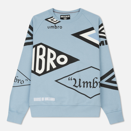 Мужская толстовка Umbro x House Of Holland Multi Logo Blue
