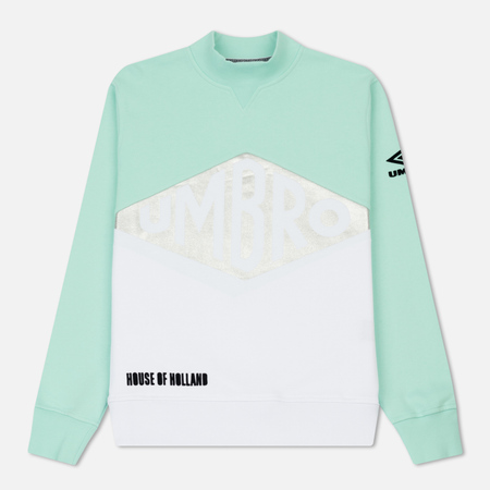 Мужская толстовка Umbro x House Of Holland Vintage Logo Foil Print Mint/White