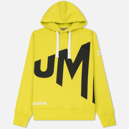 Мужская толстовка Umbro x House Of Holland Wrap Text Hoodie Lime