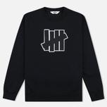 Undefeated 5 Strike Applique Crew Men`s Sweatshirt Black photo- 0