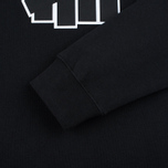 Мужская толстовка Undefeated 5 Strike Applique Crew Black фото- 3