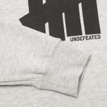 Мужская толстовка Undefeated 5 Strike Grey Heather фото- 3