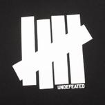 Мужская толстовка Undefeated 5 Strike Hood Black фото- 2