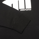 Мужская толстовка Undefeated 5 Strike Hood Black фото- 3