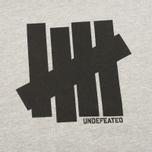 Мужская толстовка Undefeated 5 Strike Hood Grey Heather фото- 2