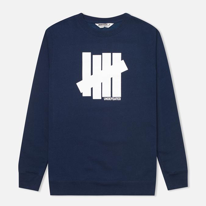 Undefeated 5 Strike Men's Sweatshirt Navy