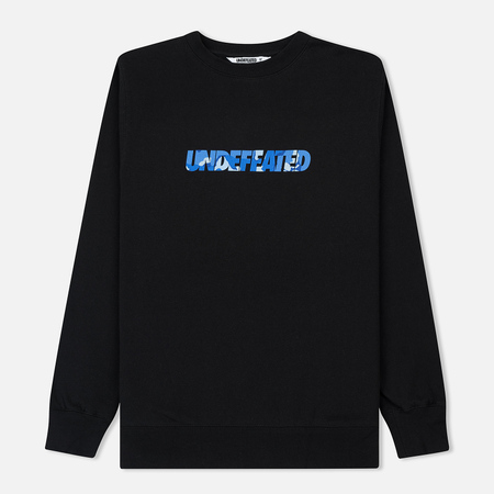 Мужская толстовка Undefeated Camo Undefeated Crew Black