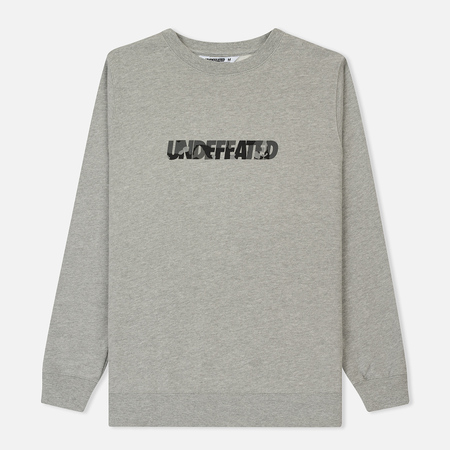 Мужская толстовка Undefeated Camo Undefeated Crew Grey Heather