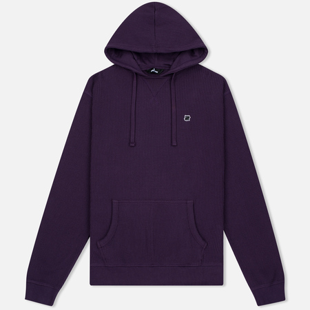 Мужская толстовка Undefeated Heavy Waffle Hoodie Grape