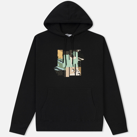 Мужская толстовка Undefeated Patchwork Strike Hoodie Black