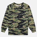 Undefeated Regiment Crew Men`s Sweatshirt Camo photo- 0