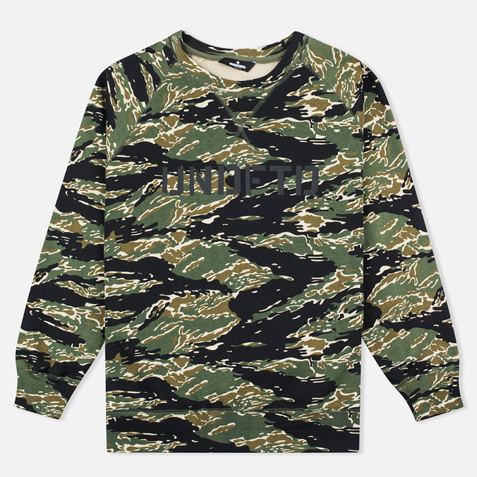 Undefeated Regiment Crew Men`s Sweatshirt Camo