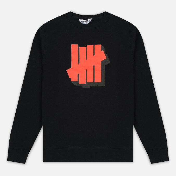 Мужская толстовка Undefeated Shadowed Strike Crew Black
