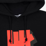 Мужская толстовка Undefeated Shadowed Strike Hoodie Black фото- 1
