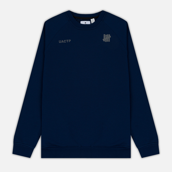 Мужская толстовка Undefeated Tech Fleece LS Crewneck Navy
