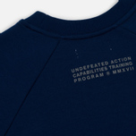 Мужская толстовка Undefeated Tech Fleece LS Crewneck Navy фото- 5