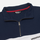 Undefeated Wag Half Zip Men's Sweatshirt Navy photo- 1