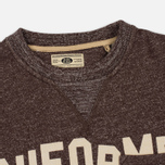 Мужская толстовка Uniformes Generale Belushi Crew Sweat Brown Melange фото- 1