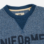 Uniformes Generale Belushi Crew Sweat Men's Sweatshirt Indigo photo- 1
