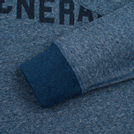 Uniformes Generale Belushi Crew Sweat Men's Sweatshirt Indigo photo- 3