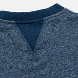 Uniformes Generale Belushi Crew Sweat Men's Sweatshirt Indigo photo- 5