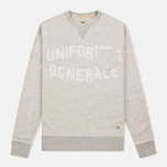 Мужская толстовка Uniformes Generale Belushi Crew Sweat Tea Grey Melange фото- 0