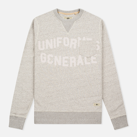 Мужская толстовка Uniformes Generale Belushi Crew Sweat Tea Grey Melange