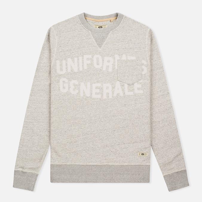 Uniformes Generale Belushi Crew Sweat Tea Men's Sweatshirt Grey Melange