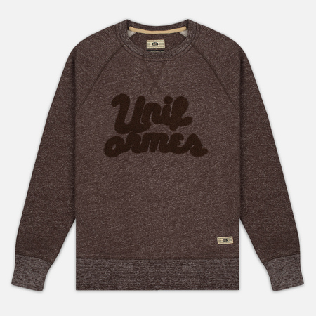 Мужская толстовка Uniformes Generale Chenille Crew Neck Brown Melange