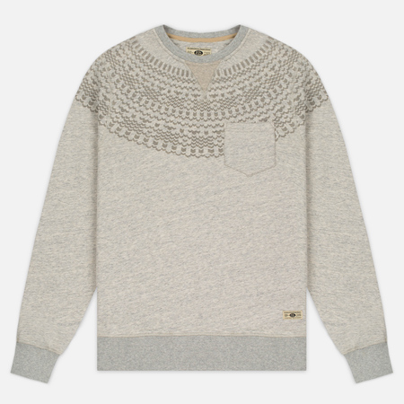 Uniformes Generale Hikerdelic Pocket Crew Neck Men's Sweatshirt Ecru