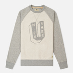 Uniformes Generale Perspective Letterman Contrast Crew Men's Sweatshirt Grey Melange photo- 0