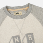 Uniformes Generale Perspective Letterman Contrast Crew Men's Sweatshirt Grey Melange photo- 1