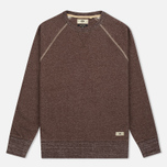Мужская толстовка Uniformes Generale Super Marl Crew Sweat Grey Chocolate Brown Salt/Pepper фото- 0