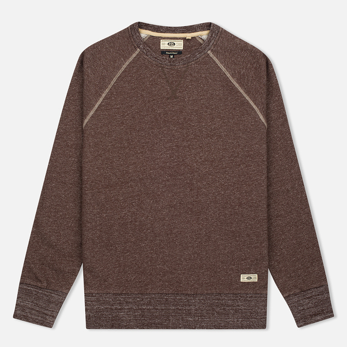 Мужская толстовка Uniformes Generale Super Marl Crew Sweat Grey Chocolate Brown Salt/Pepper