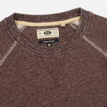 Мужская толстовка Uniformes Generale Super Marl Crew Sweat Grey Chocolate Brown Salt/Pepper фото- 1