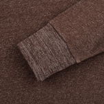 Мужская толстовка Uniformes Generale Super Marl Crew Sweat Grey Chocolate Brown Salt/Pepper фото- 2