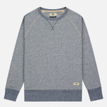Мужская толстовка Uniformes Generale Super Marl Crew Sweat Indigo Salt/Pepper фото- 0