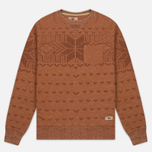 Мужская толстовка Uniformes Generale Wicker Man Pocket Crew Neck Rust Melange фото- 0